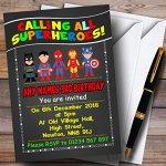 Colourful-Chalk-Superhero-Childrens-Birthday-Party-Invitations-0