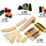 Conductor-Carl-100-Piece-Wooden-Train-Track-Town-Starter-Set-0-0