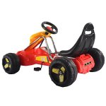 Costzon-Red-Black-Products-Go-Kart-4-Wheel-Kids-Ride-on-Car-Stealth-Pedal-Powered-Outdoor-Racer-0-1