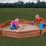 Creative-Cedar-Designs-Octagon-Wooden-Sandbox-0-0