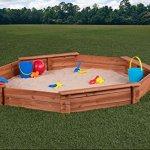 Creative-Cedar-Designs-Octagon-Wooden-Sandbox-0-1