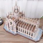 CubicFun-MC210h-Italy-Duomo-di-Milano-Worlds-Great-Architectures-3d-Puzzle-251-Pieces-0-1
