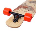 DGWBT-Bamboo-Maple-41-inch-Drop-Through-Longboard-Skateboard-Complete-0-2