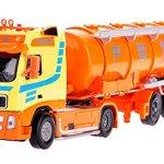 Damara-Boys-Large-Tanker-Truck-Model-Toy-Chrismas-GiftOrange-0