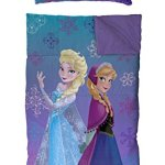 Disney-Frozen-Elsa-Purple-2-Piece-Slumber-Bag-with-Pillow-0