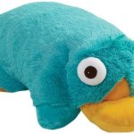 Disney-Perry-the-Platypus-Pillow-Pet-16-Authentic-Perry-Folding-Plush-Stuffed-Animal-Toy-0
