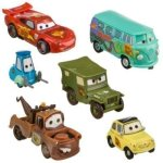Disney-Pixar-Cars-Lightning-McQueen-Pit-Crew-6-Figure-Play-Set-In-Display-Box-0