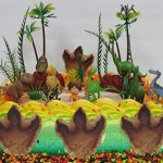 Disney-The-GOOD-DINOSAUR-Birthday-CAKE-Topper-Set-Featuring-Spot-Arlo-Thunderclap-Butch-Bubbha-Forrest-Woodbush-and-More-0