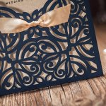 Doris-Home-Wedding-Invitations-Cards-Laser-Cut-Navy-Blue-Square-Invitation-with-Bow-Lace-Sleeve-for-Engagement-Baby-Bridal-Shower-Birthday-Quinceanera-50pcs-CW6179B-0-2
