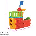 ECR4Kids-IndoorOutdoor-Buccaneer-Boat-with-Pirate-Flag-Play-Structure-for-Kids-0-2
