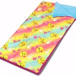 Emoji-Pals-Sleeping-Bag-Set-Rainbow-54X-30-0-0