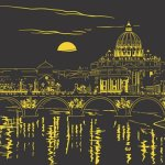 Evening-in-Rome-1000-Piece-Starline-Glow-in-The-Dark-Puzzle-0-0