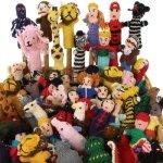 Fair-Trade-Finger-Puppets-50-Pcs-Wholesale-Lot-Story-Telling-0-0
