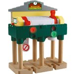 Fisher-Price-Thomas-Friends-Wooden-Railway-Deluxe-Over-The-Track-Signal-Battery-Operated-0