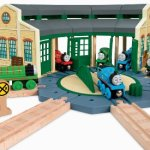 Fisher-Price-Thomas-Friends-Wooden-Railway-Tidmouth-Sheds-Train-Station-0-0