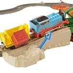 Fisher-Price-TrackMaster-Daring-Derail-Train-Set-0-1