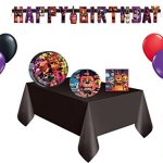 Five-Nights-At-Freddys-Mega-Party-16-Guest-Party-Decorating-Kit-Lunch-Plates-Lunch-Napkins-Dessert-Plates-Table-Cover-Banner-Balloons-0