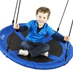 Flying-Squirrel-Giant-Rope-Swing-40-Saucer-Tree-Swing-Blue-0