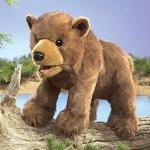 Folkmanis-Bear-Cub-Hand-Puppet-Plush-Brown-0-0