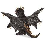 Folkmanis-Dragon-Hand-Puppet-Plush-Black-0-0