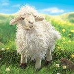 Folkmanis-Longwool-Sheep-Hand-Puppet-0-0