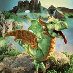Folkmanis-Wyvern-Dragon-Hand-Puppet-0-1