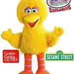 GUND-Sesame-Street-Full-Body-Plush-Hand-Puppets-Featuring-Elmo-Cookie-Monster-Big-Bird-Exclusive-Mattys-Toy-Stop-Storage-Bag-Gift-Set-Bundle-3-Pack-0-2