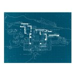 Galison-Frank-Lloyd-Wright-Fallingwater-2-Sided-Puzzle-500-Piece-0-2