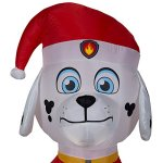 Gemmy-Airblown-Inflatable-Paw-Patrol-Marshall-wWreath-45-ft-Tall-IndoorOutdoor-Decoration-0-0