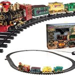 Ginzick-Rc-Remote-Control-Super-Fun-Classic-Electric-Train-Set-with-Lights-Sounds-and-Real-Smoke-Perfect-Gift-and-Special-for-Holiday-0