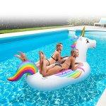 GoFloats-Giant-Inflatable-Unicorn-Includes-Bonus-Unicorn-Drink-Float-Hottest-Giant-Float-of-2018-0-0