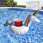 GoFloats-Giant-Inflatable-Unicorn-Includes-Bonus-Unicorn-Drink-Float-Hottest-Giant-Float-of-2018-0-2