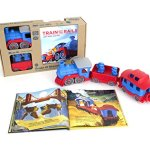 Green-Toys-Storybook-Gift-Set-Includes-Train-Storybook-0