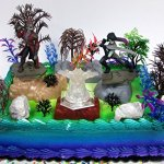 Guardians-of-the-Galaxy-Birthday-Cake-Topper-Set-Featuring-Figures-and-Decorative-Themed-Accessories-0