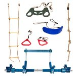 Gym1-Deluxe-Indoor-Playground-with-Indoor-Swing-Plastic-Rings-Trapeze-Bar-Climbing-Ladder-and-Swinging-Rope–0