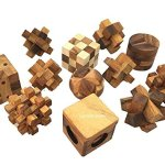 Handmade-Puzzle-Sets-Twelve-Brain-Teasers-with-the-Puzzle-Showcase-12-Wooden-Game-Gift-Set-Handmade-Wooden-Puzzles-for-Adults-By-RATREE-SHOP-0-0