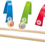 Hape-Colorful-Croquet-Wooden-Outdoor-Backyard-Play-Set-0