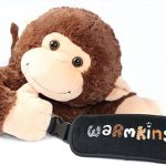 Hugo-Warmkins-Original-18-Weighted-Sensory-Plush-Monkey-Feels-Like-a-Warm-HugTherapeuticCalmingComfortingHotColdMicrowavableDoubles-as-Backpack-and-StorageRemovable-StrapsReversible-Paws-0-0