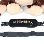 Hugo-Warmkins-Original-18-Weighted-Sensory-Plush-Monkey-Feels-Like-a-Warm-HugTherapeuticCalmingComfortingHotColdMicrowavableDoubles-as-Backpack-and-StorageRemovable-StrapsReversible-Paws-0-1