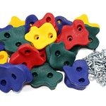 JGS-20-Premium-Quality-Large-Rock-Climbing-Holds-for-Kids-with-Longer-2-Mounting-Hardware-for-Wood-Playset-Swing-Set-Indoor-Outdoor-Climbing-Wall-Children-Playground-eBook-Install-Guide-Included-0-0