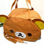 JUMBO-Licensed-San-X-Rilakkuma-Beach-Duffle-Gym-Travel-Luggage-Shoulder-Bag-Handbag-0-0