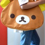 JUMBO-Licensed-San-X-Rilakkuma-Beach-Duffle-Gym-Travel-Luggage-Shoulder-Bag-Handbag-0-1
