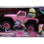 Jada-Toys-GIRLMAZING-Big-Foot-Jeep-RC-Vehicle-116-Scale-Pink-0
