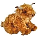 KCFT-23Cm-Living-Nature-Highland-Cow-Soft-Toy-With-Sound-0