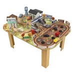 KIDKRAFT-Disney-Pixar-Cars-3-Thomasville-70-Piece-Wooden-Track-Set-with-Accessories-and-Table-0