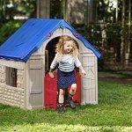 Keter-WonderFold-Foldable-Playhouse-Red-RoofGreen-Door-0-1