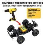 Kid-Galaxy-Ford-f150-Remote-Control-Truck-Fast-30-MPH-All-Terrain-Off-road-RC-Car-RTR-110-Scale-24-Ghz-20v-Electric-Rechargeable-0-0