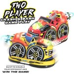 Kid-Galaxy-Remote-Control-Bumper-Cars-RC-2-Player-Game-2-Cars-and-2-Controllers-Included-0-1
