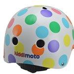 Kiddimoto-Kids-Pastel-Dotty-Helmet-Multicoloured-48-52cm-0-0