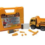 Kids-Play-Dump-Truck-with-Construction-Tool-Set-Gift-Bundle-Perfect-for-Sand-Box-Beach-and-the-Outdoors-Ages-3-and-Up-0-1